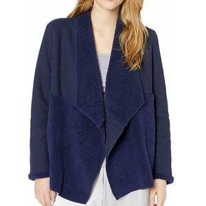 Splendid Thermal Sherpa Cardigan Wrap Jacket